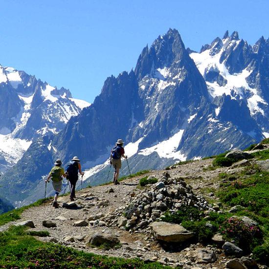 independent trekking mont blanc