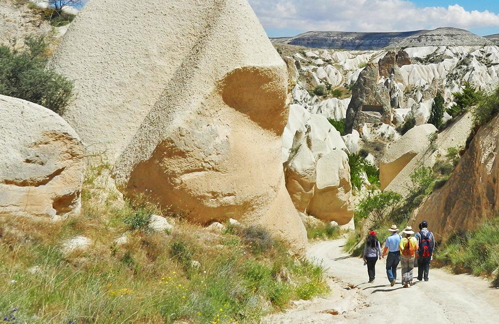 unguided rambling and walking holidays in cappadocia, turkey