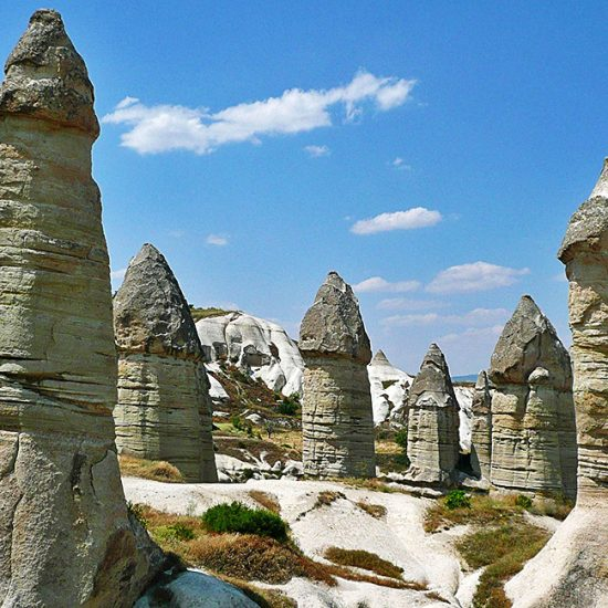 cappadocia independent walking and hiking tours, turkey