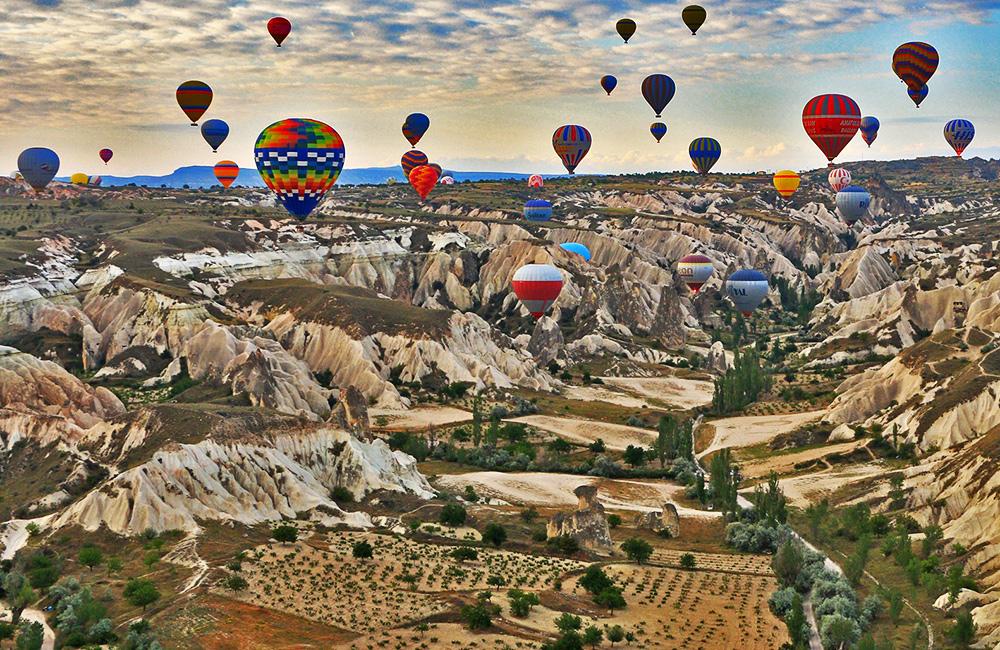 cappadocia independent walking and hiking, turkey