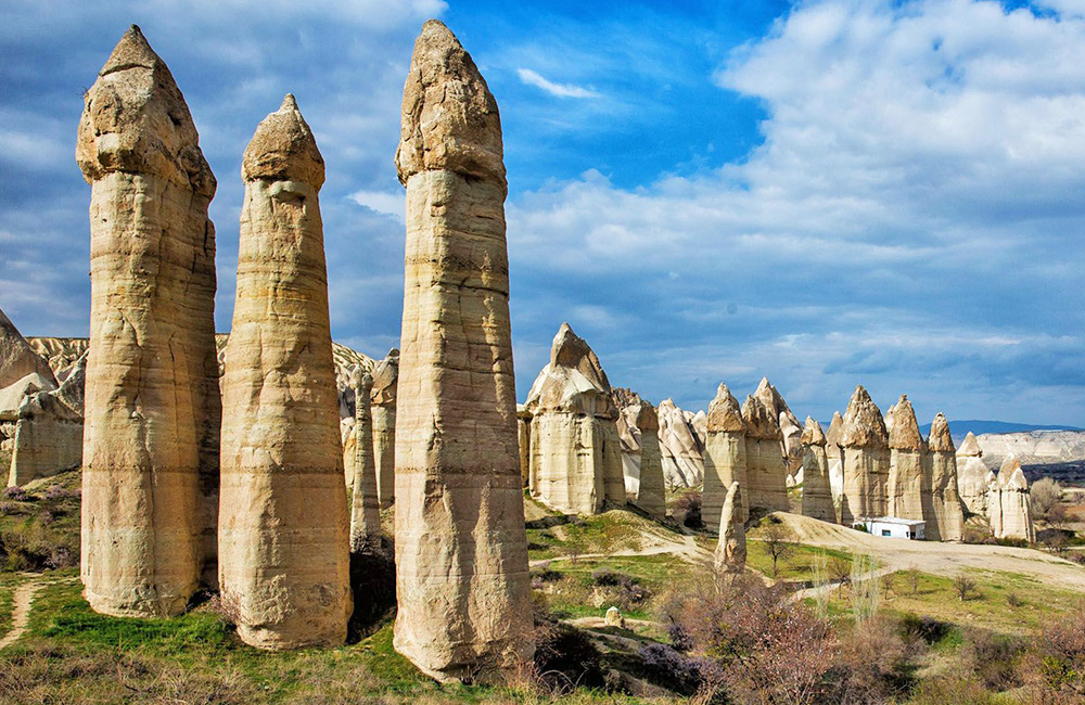 self-guided rambling tours in cappadocia, turkey