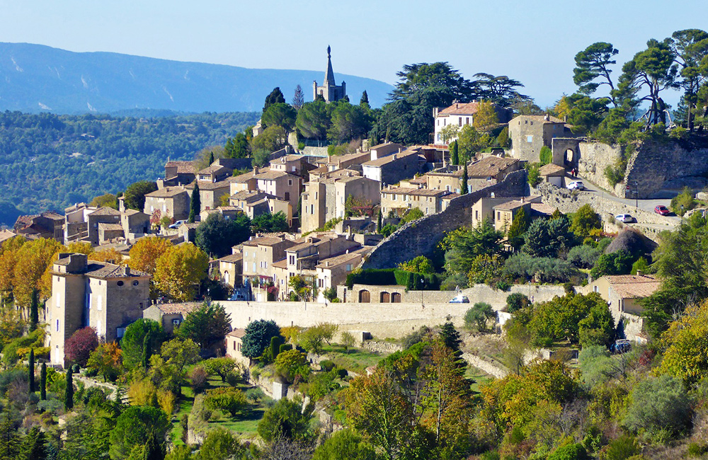 provence independent hiking tour in france