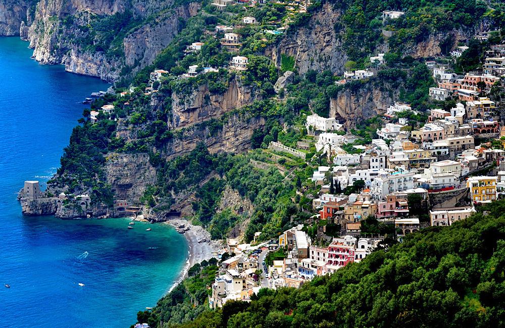 unguided trekking amalfi coast italy