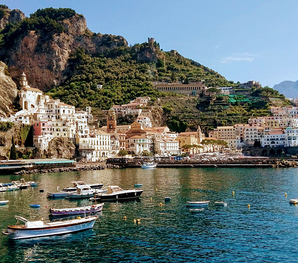 amalfi self-guided walking and hiking tour, italy