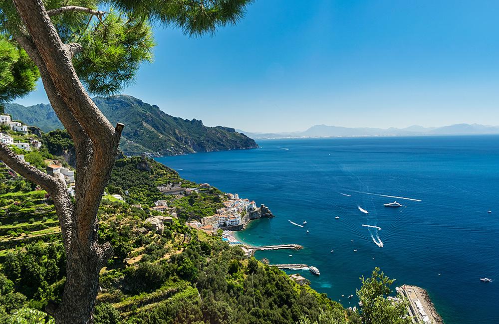 amalfi coast inn to inn independent walking treks