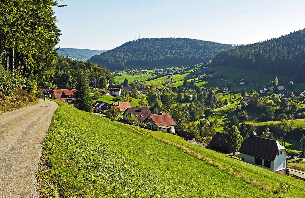 germany self-guided hiking tour