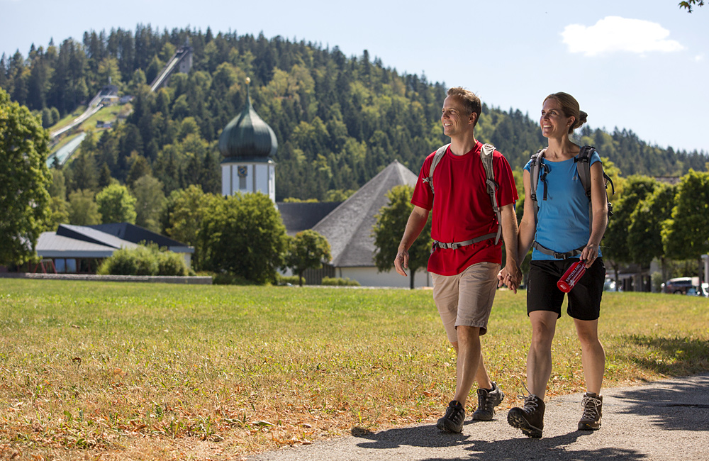 self-guided trekking tours germany