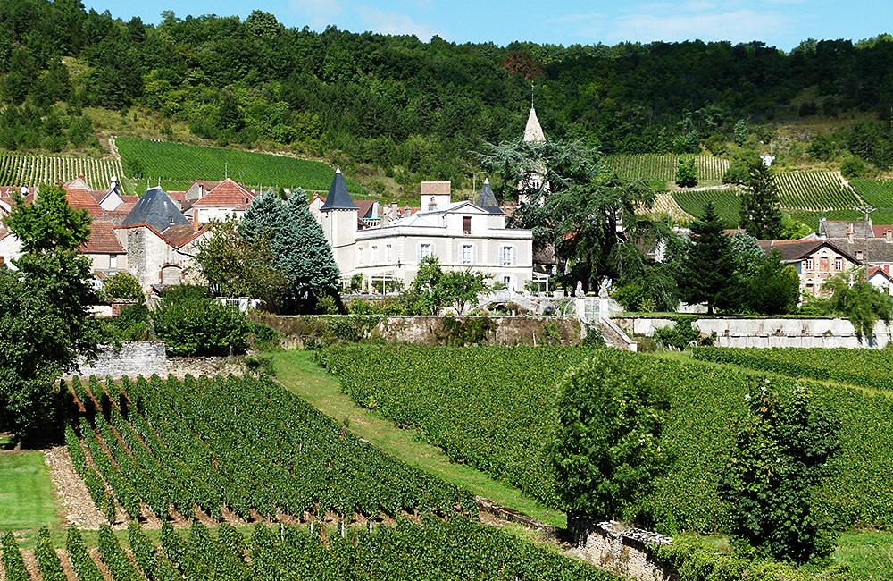 france self-guided walking in burgundy
