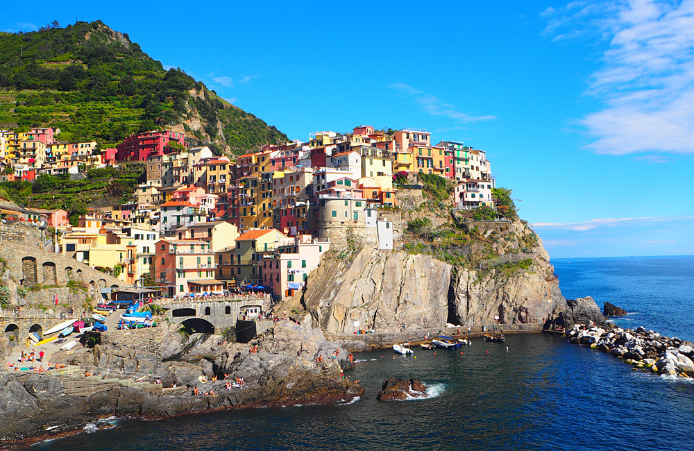 unguided hiking cinque terre italy
