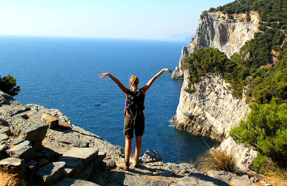 cinque terre unguided walking and hiking tour
