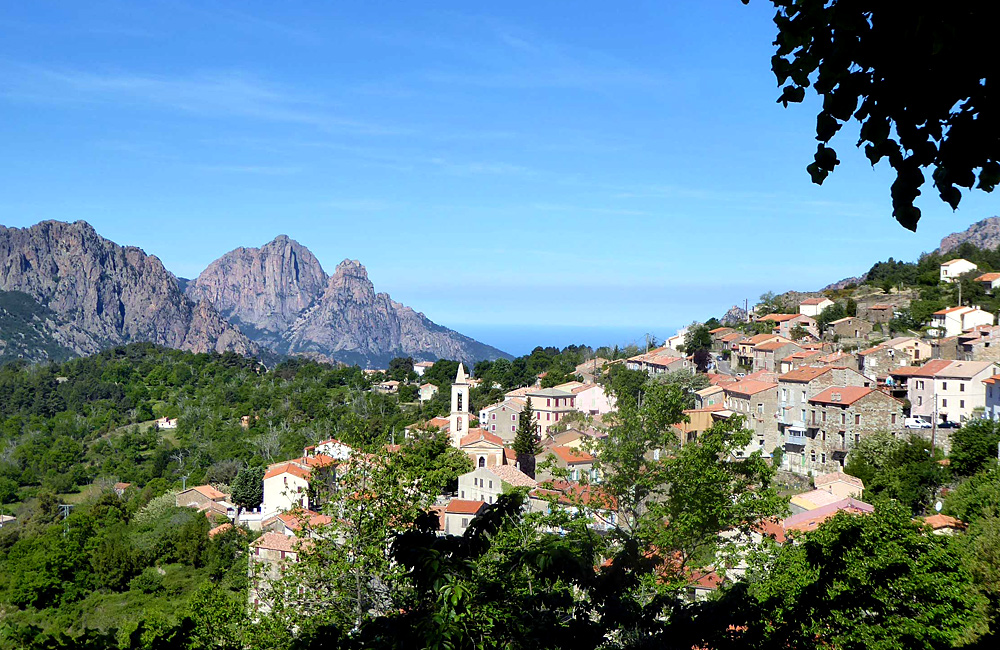 corsica self-guided trekking and hiking tours