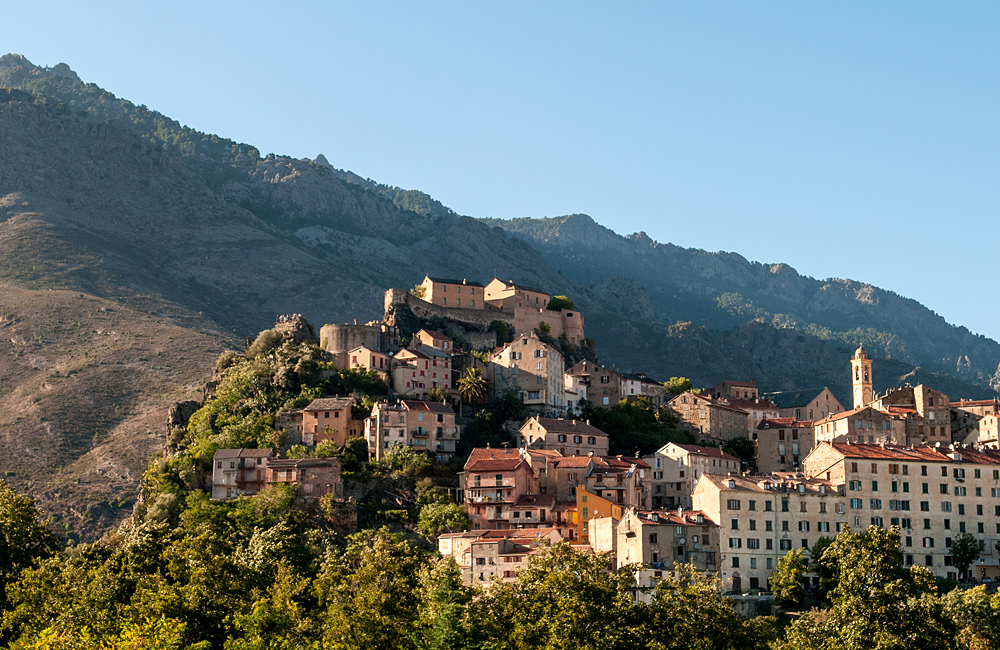 corsica self-guided walking and hiking