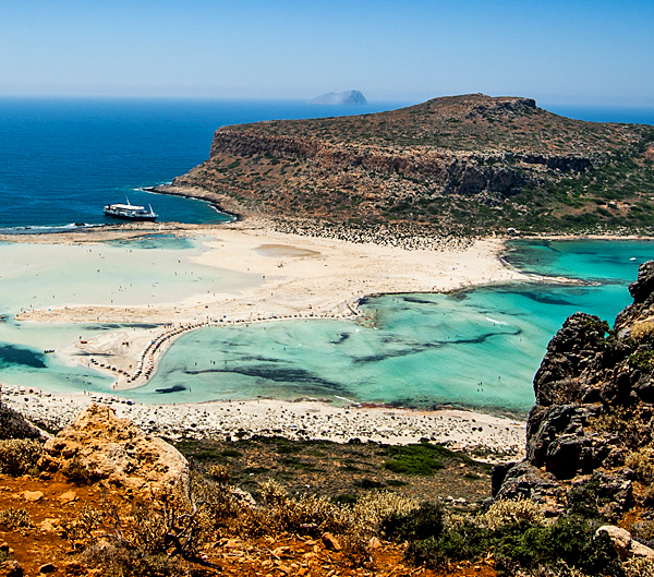 crete self-guided walking and hiking tours