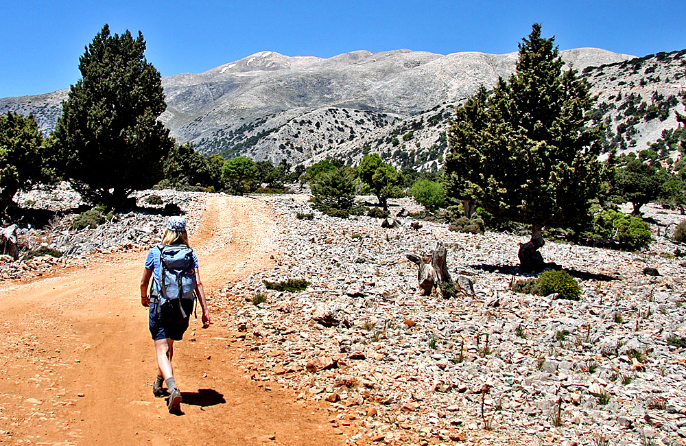 crete independent trekking holidays in greece