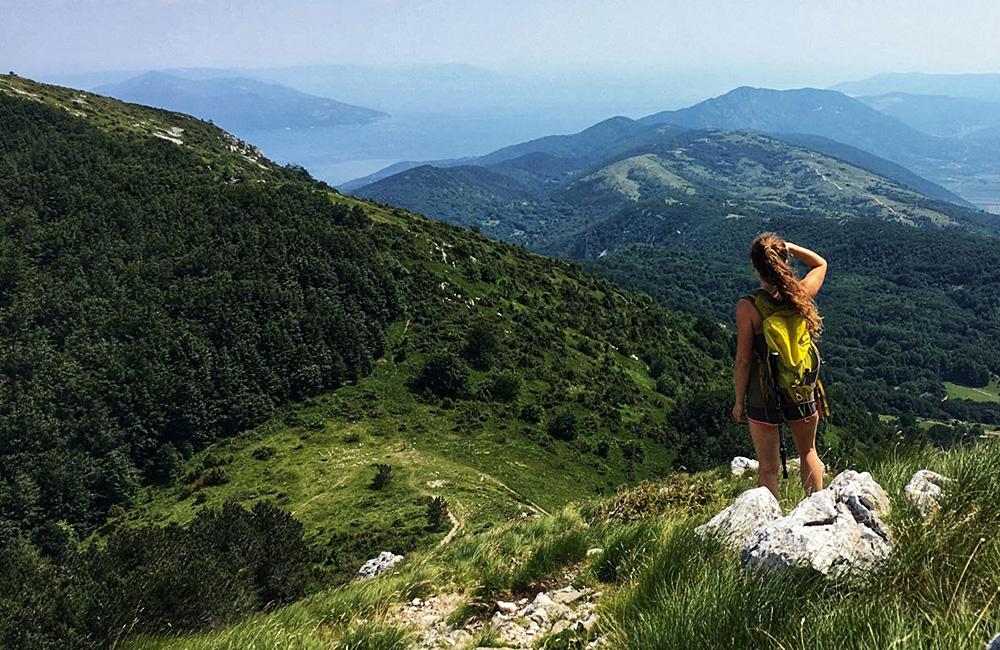 self-guided hiking treks in croatia and istria