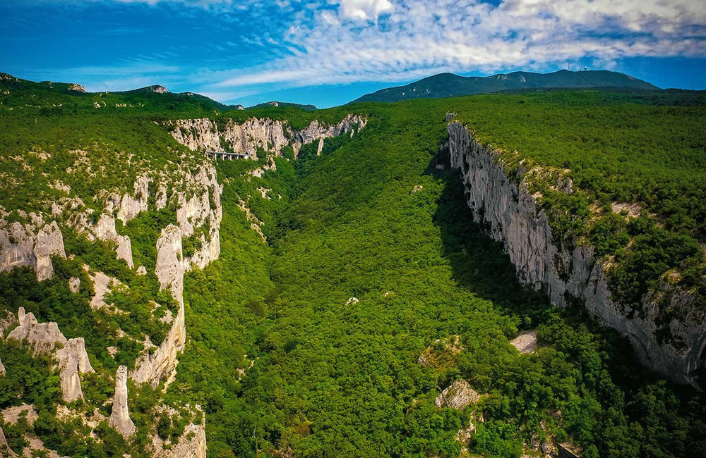 unguided independent walking and hiking tours of croatia, istria