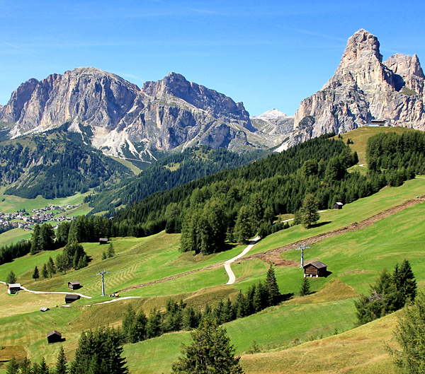 dolomites self-guided hiking and trekking tours, italy