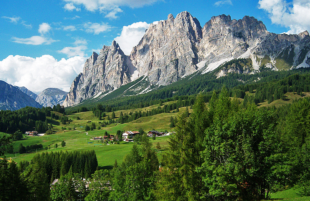 dolomites self-guided trekking holiday, italy
