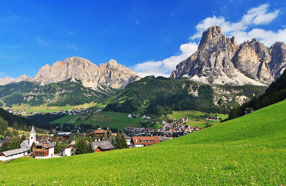 dolomites self-guided trekking in italy