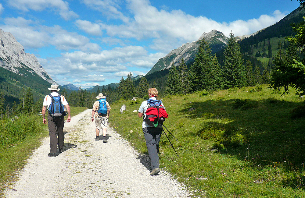unguided hiking in germany