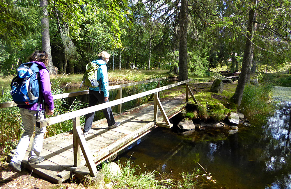 walking unguided in germany
