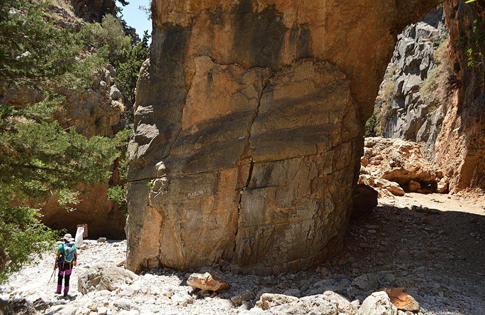 self-guided hiking tour in crete