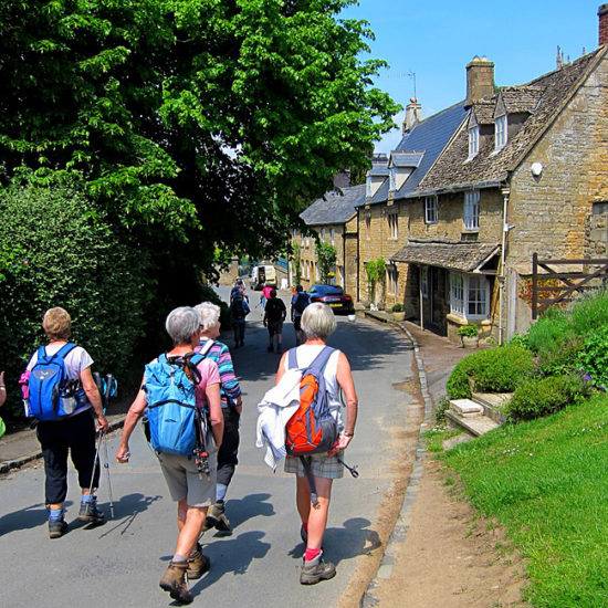 unguided hiking and trekking tours of england, cotswold