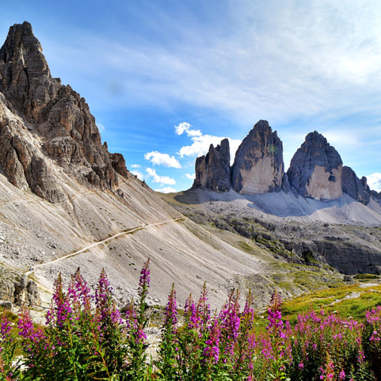 dolomites self-guided walking hiking italy
