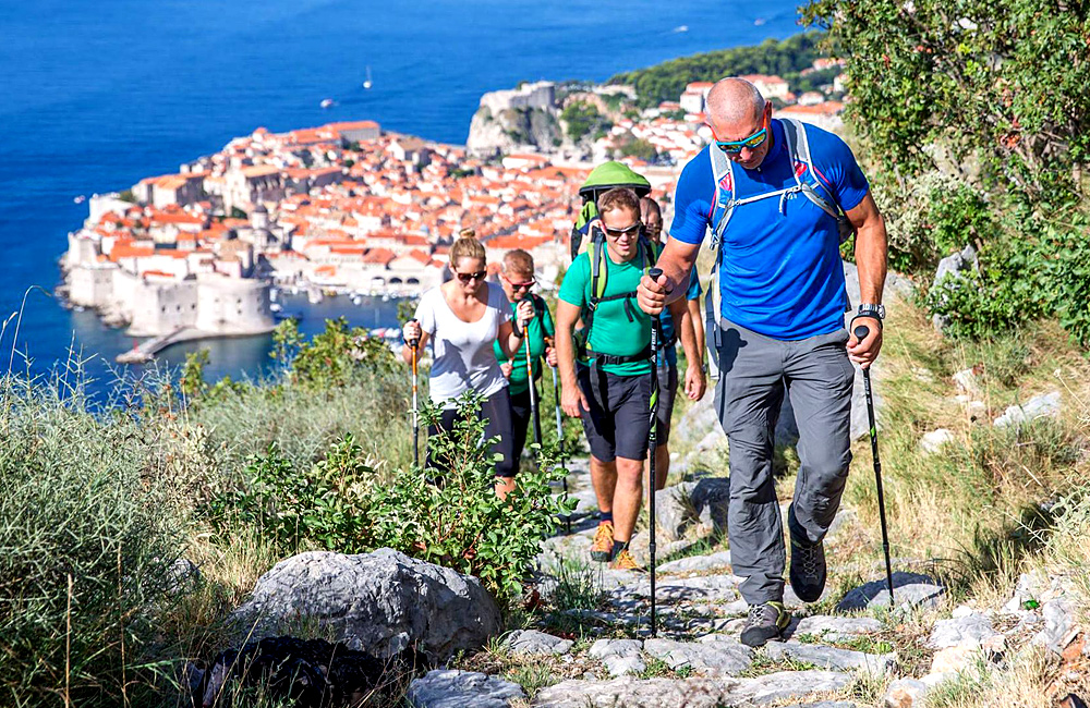 croatia self-guided walking and trekking vacations