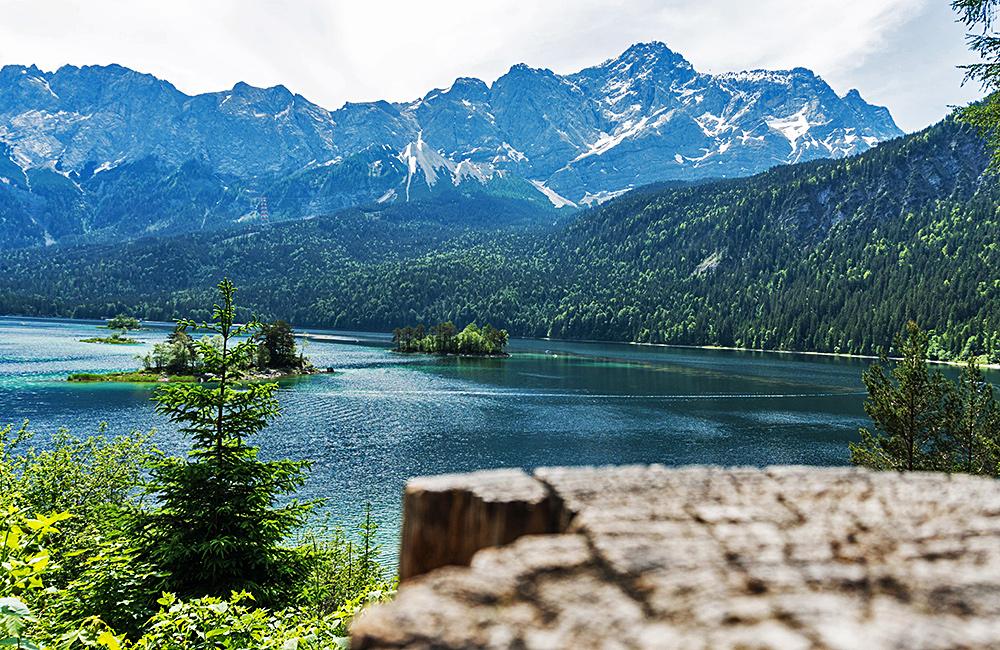 inn to inn trekking around zugspitze, germany