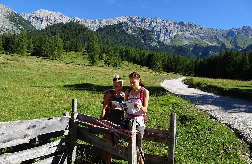zugspitze unguided trekking tour germany