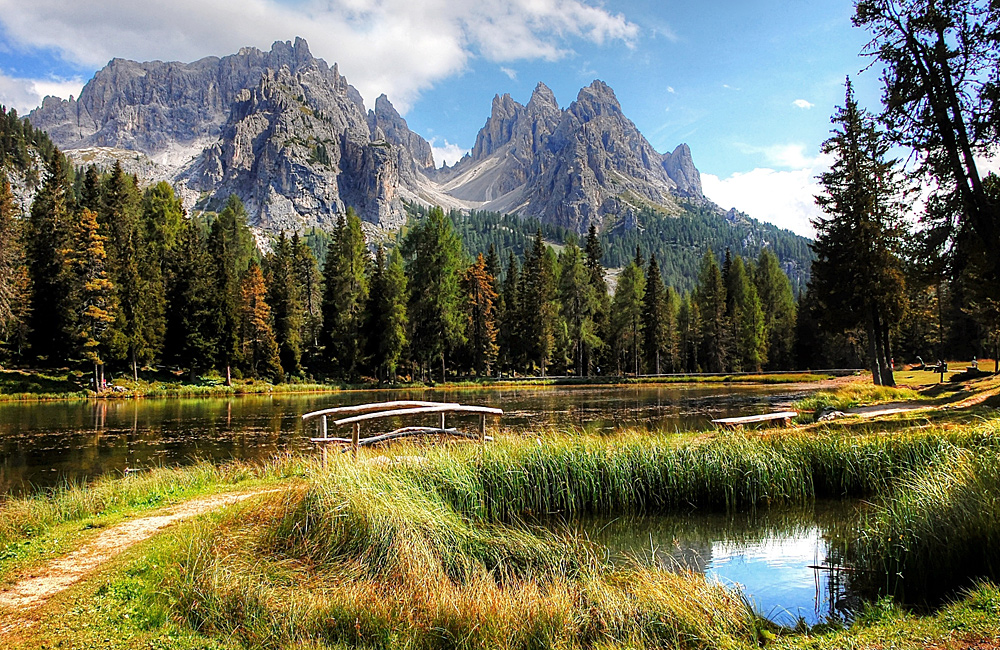 dolomites inn to inn trekking tour