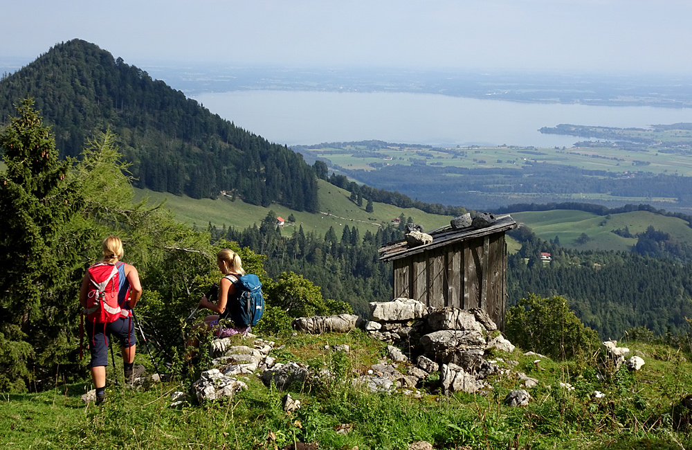 inn to inn walking tour in the alps