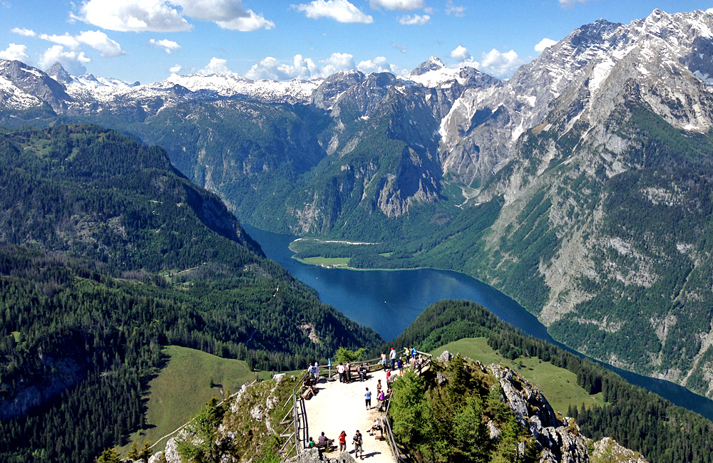 self-guided hiking in germany and austria