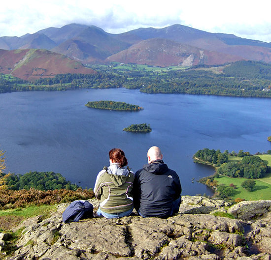 lake district self-guided hiking in england