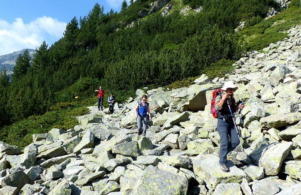 self-guided trekking in rila and pirin