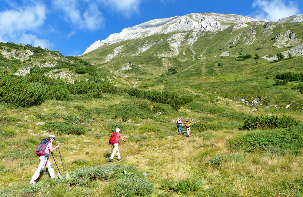 rila and pirin unguided rambling holidays