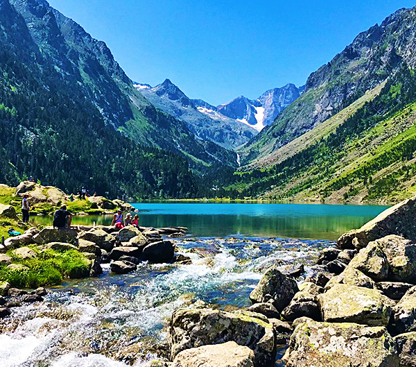 pyrenees national park hiking in france
