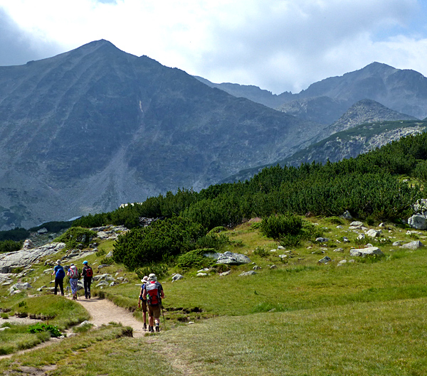 independent walking and trekking tours of bulgaria, rila mountains