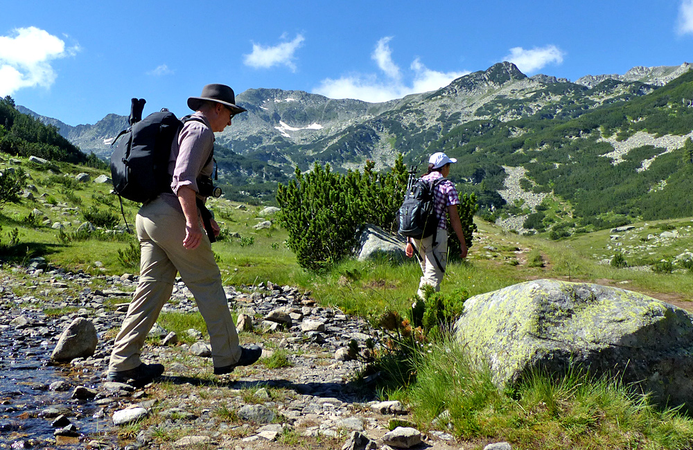 unguided trekking holidays in bulgaria