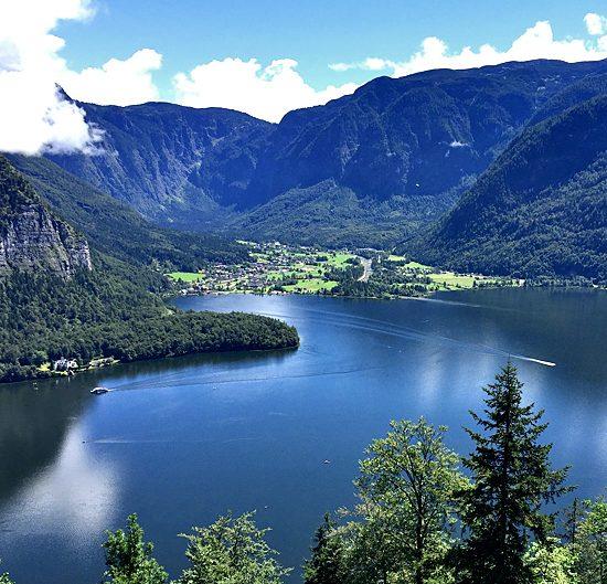 salzkammergut lakes in austria