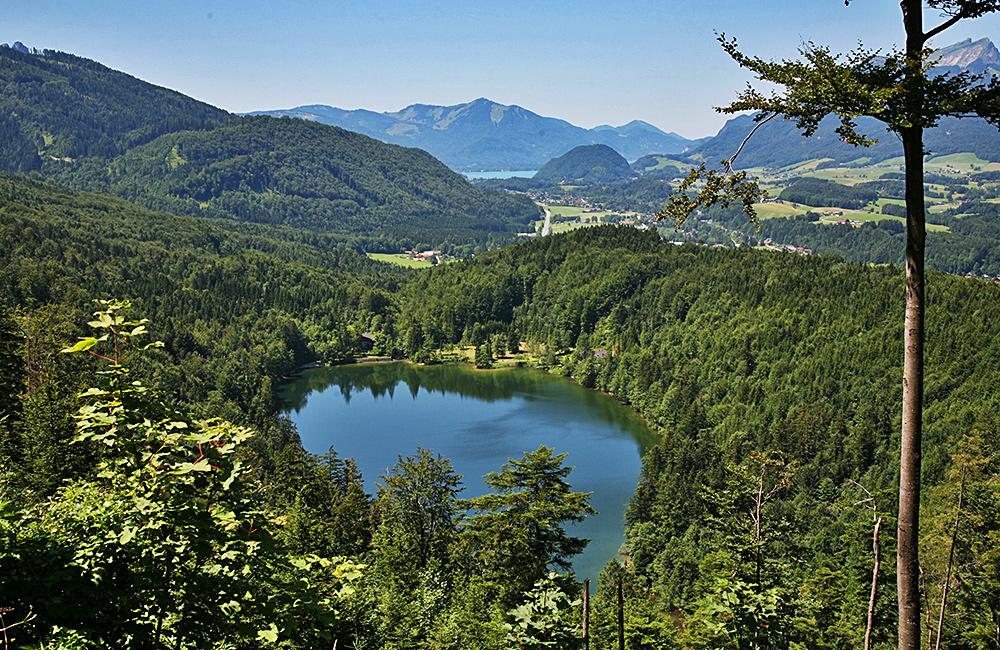 salzkammergut lakes walking in austria