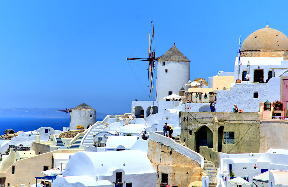 santorini inn to inn trekking tour