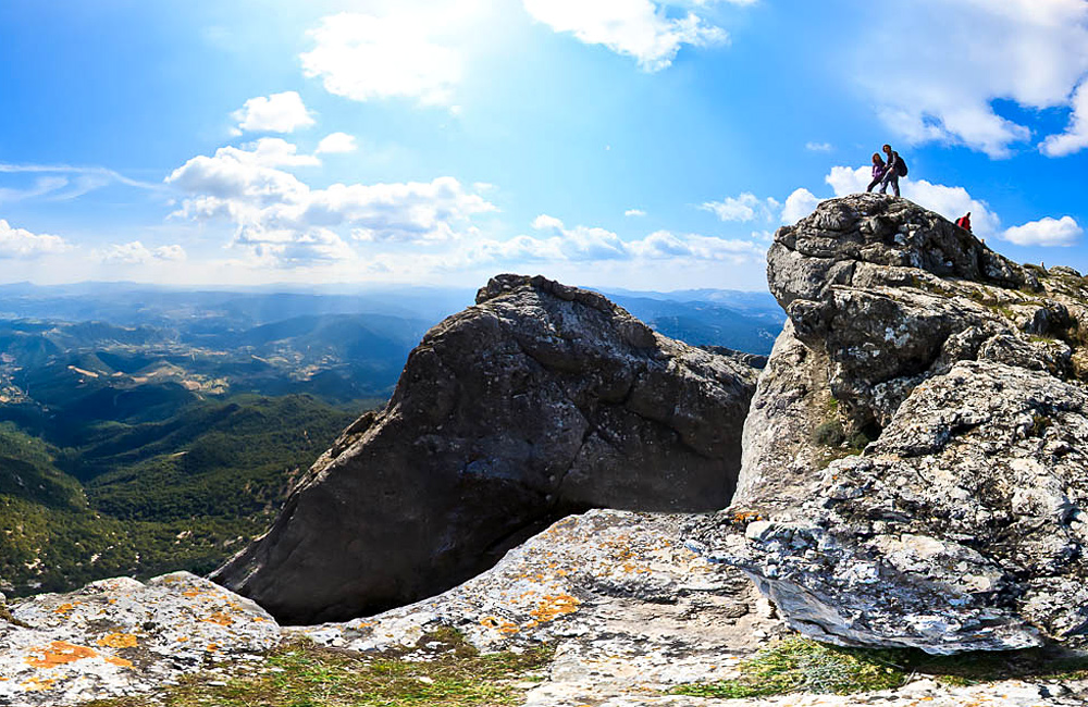 unguided trekking tour sardinia