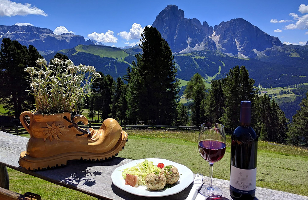 italy dolomites inn to inn self-guided hiking