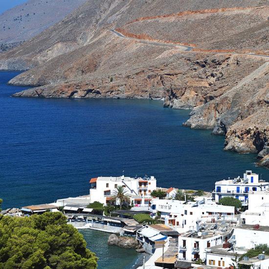 self-guided walking tours in crete, greece