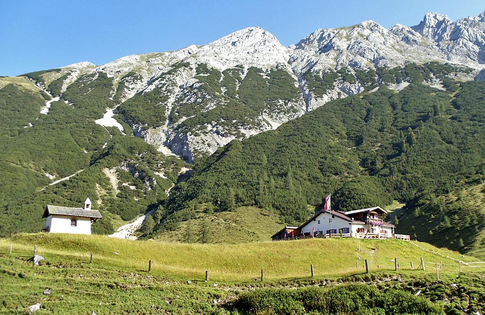 inn to inn self-guided trekking in the alps