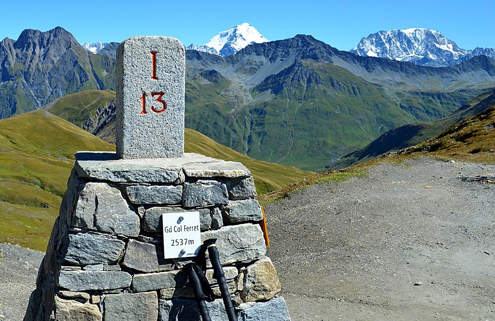unguided trekking mont blanc