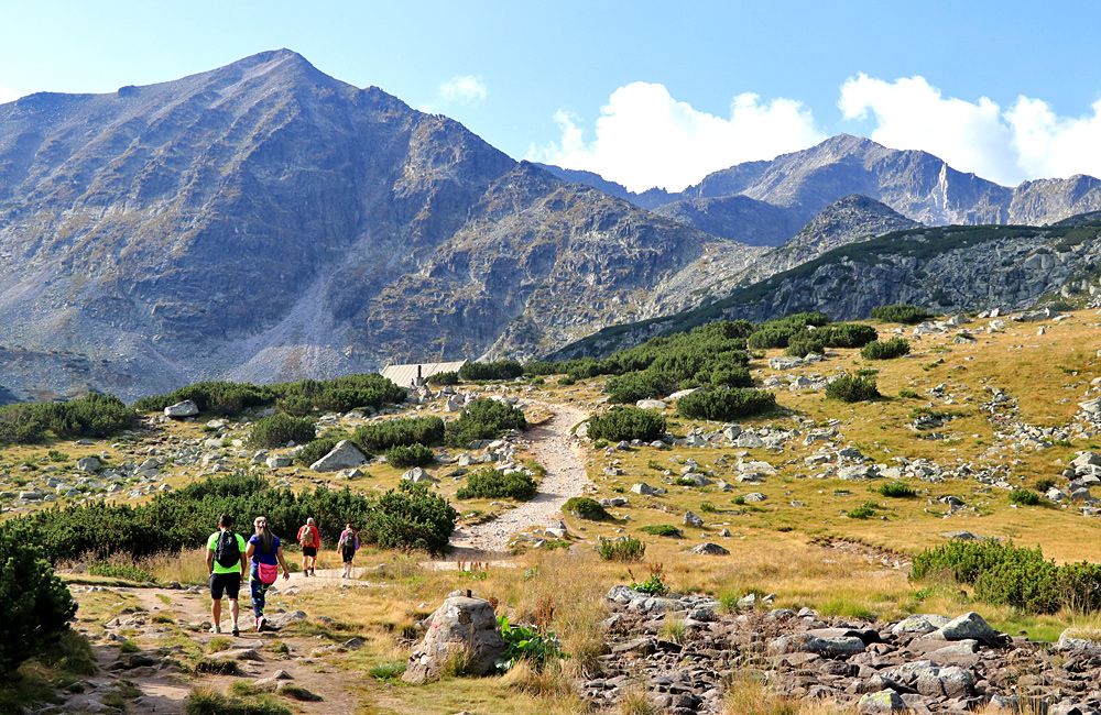 hiking and walking vacations in pirin and rila, bulgaria