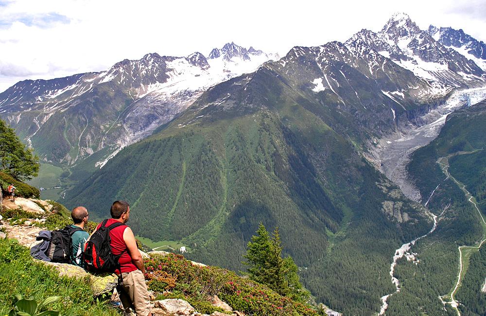 mont blanc trekking tour